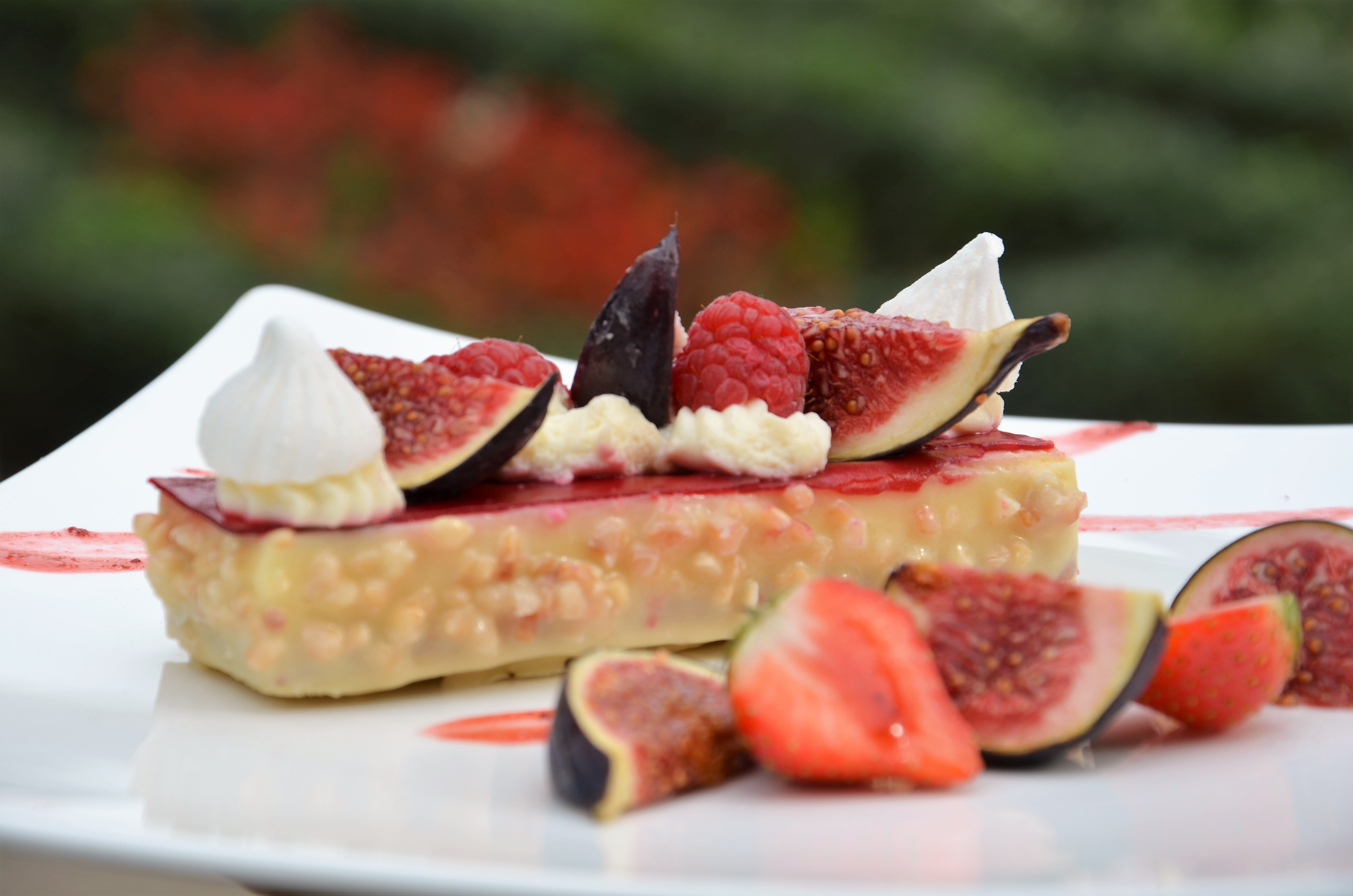 Dessert aux figues Pavillon Traiteur