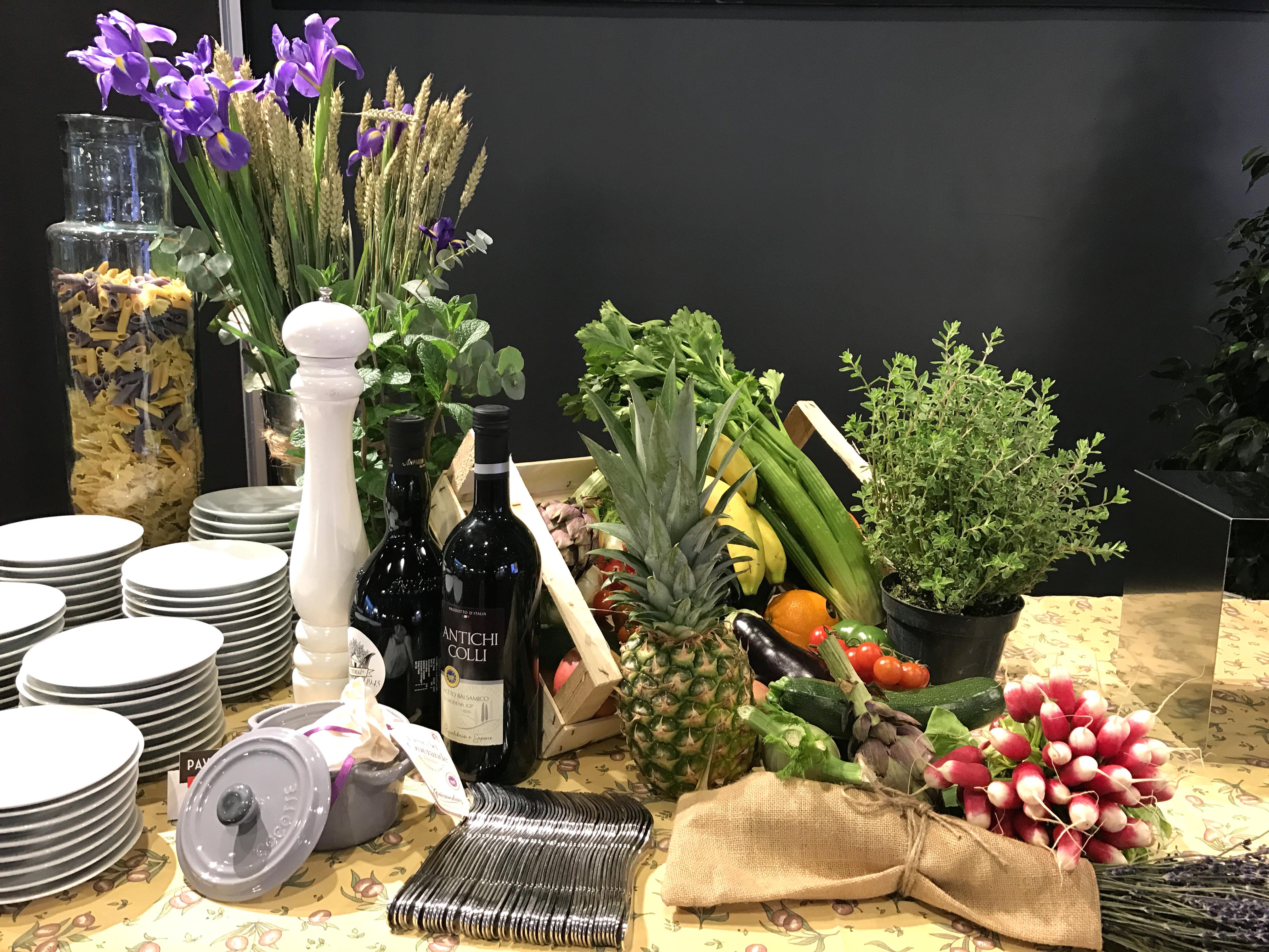 Buffet légumes Pavillon Traiteur