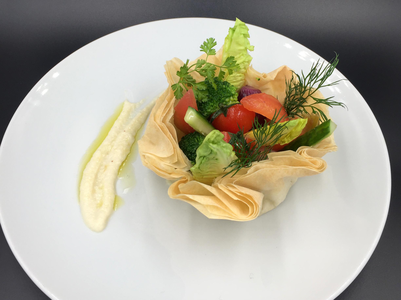 Bouquet de légumes Pavillon Traiteur
