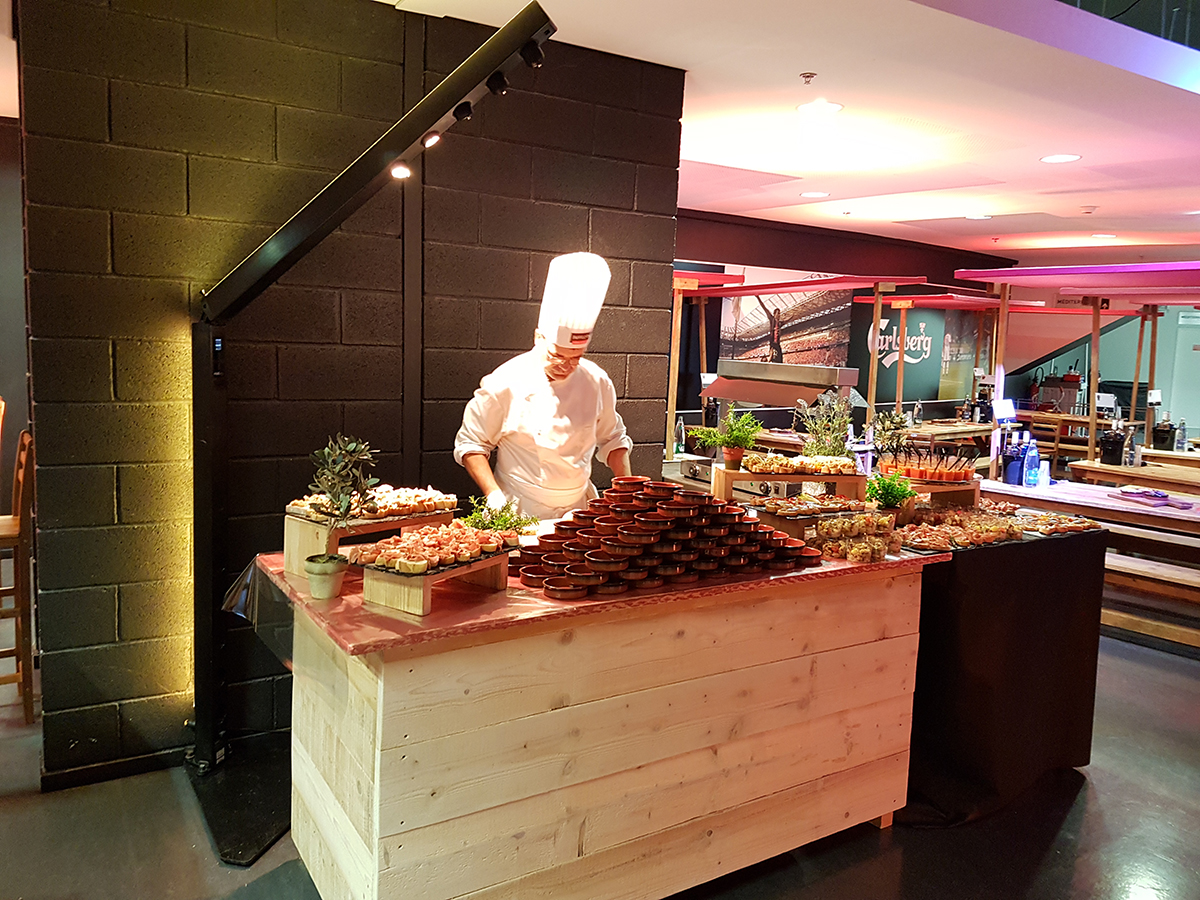 Buffet sport Pavillon Traiteur