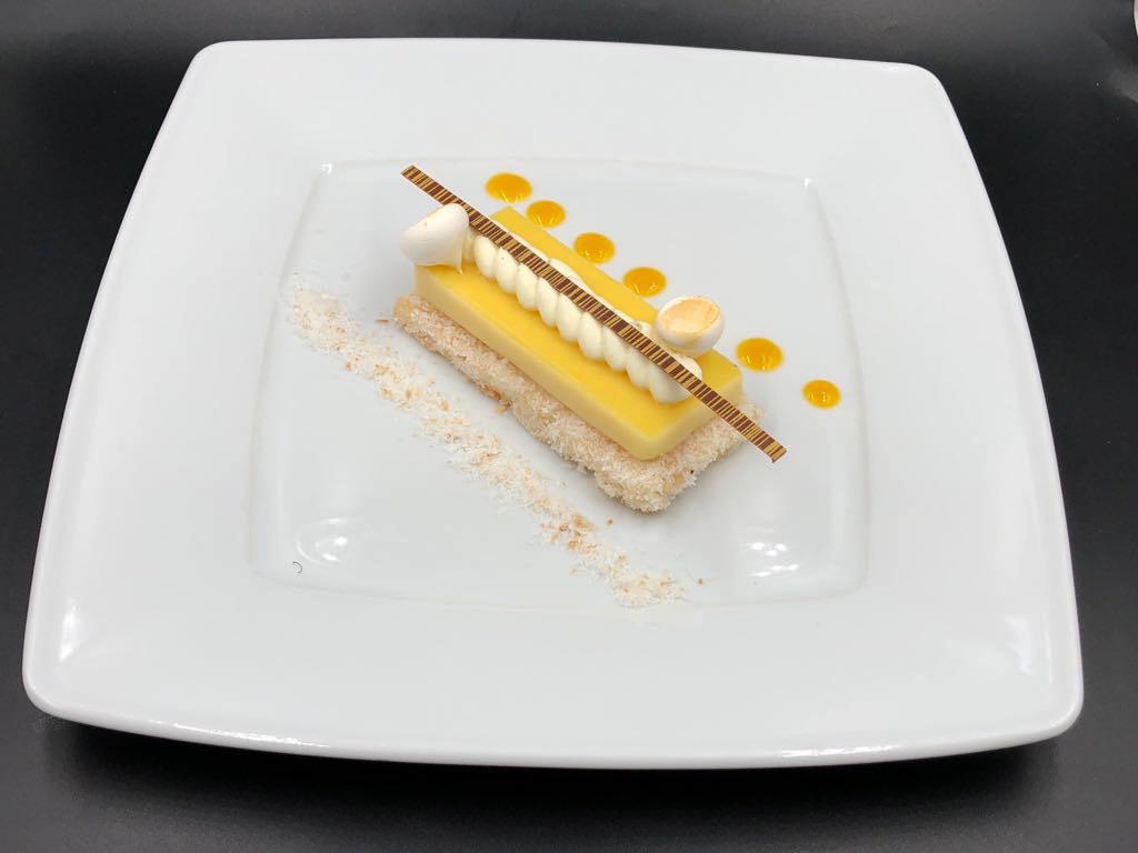 Photo dessert jaune wix