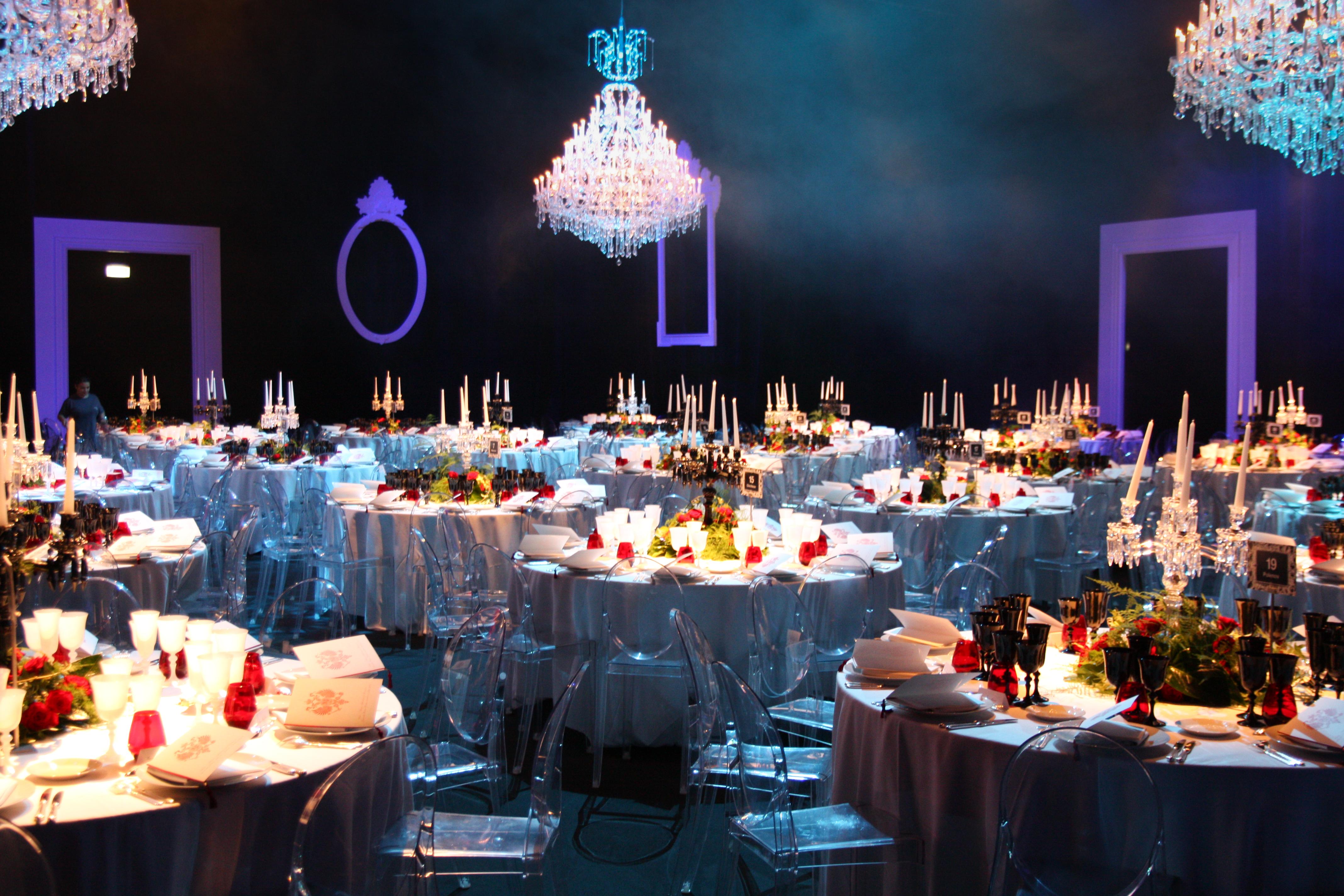 Dîner de gala Pavillon Traiteur