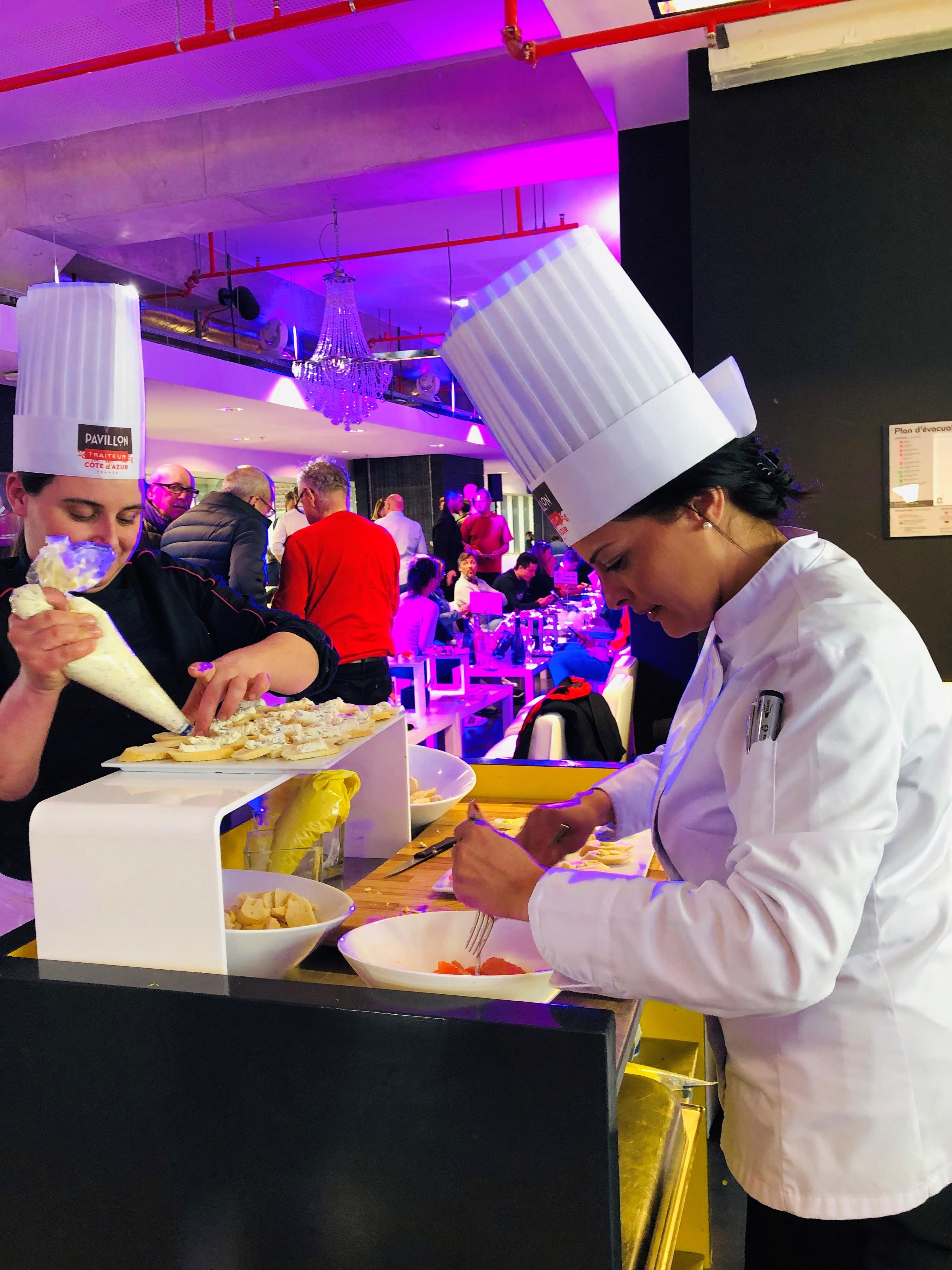 Chef Pavillon Traiteur + salon VIP