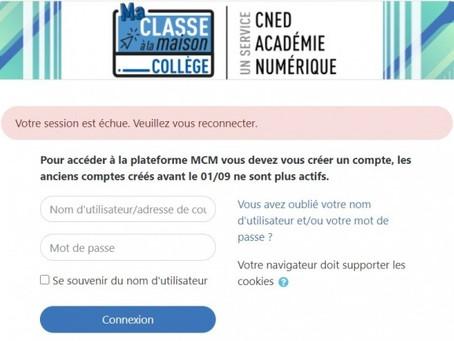 Ecole à la maison : enquête en cours après cyberattaques