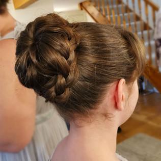 Mini Bridesmaid Hair