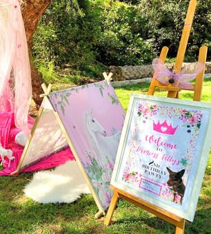 Pawsome Princess Pastel Theme Dog Party
