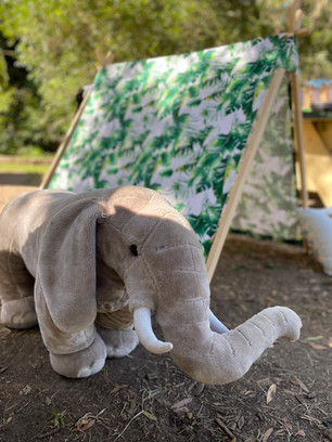 Welcome To The Jungle Pawty Elephant Prop