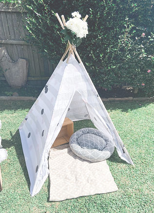 Teepee Party Prop