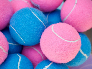 Fetch balls for your dog party
