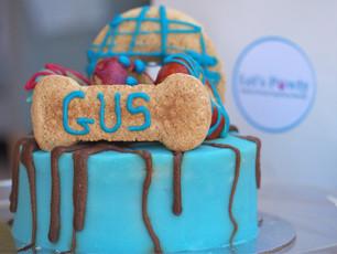 Woof Gateaux Dog Birthday Cake