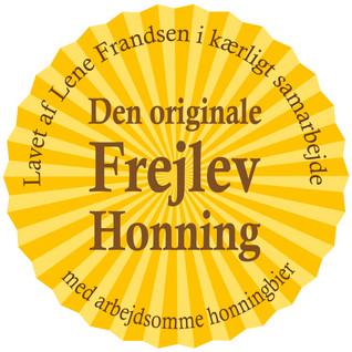 Logo til Frejlev Honning