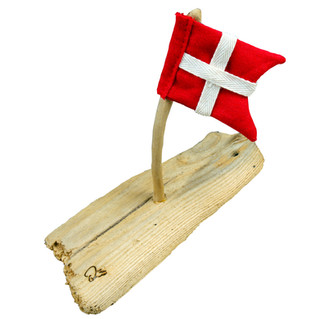 Vraggods med flag