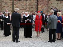 Sønderskovhjemmet var med ved dronningens indvielse af Pilgrimshus i Maribo