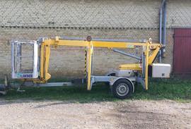 Mini 12 EJ trailerlift klar til transpor