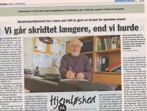 Tema om Hjemløshed på Lolland-Falster i Folketidende