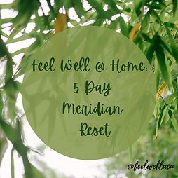 Feel Well @ Home_ 5 Day Meridian Reset (