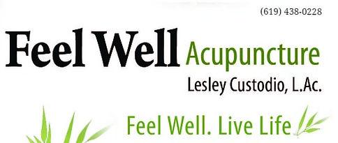 Acupuncturist Lesley Custodio San Diego
