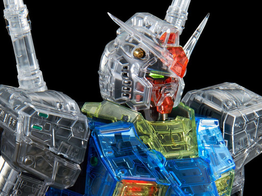 Pbandai PG Unleashed RX-78-2 Clear Color Body Parts