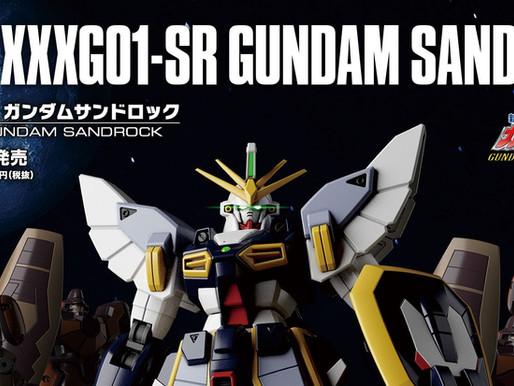 HGAC 1/144 Gundam Sandrock: Release Info, Box Art, Official Images