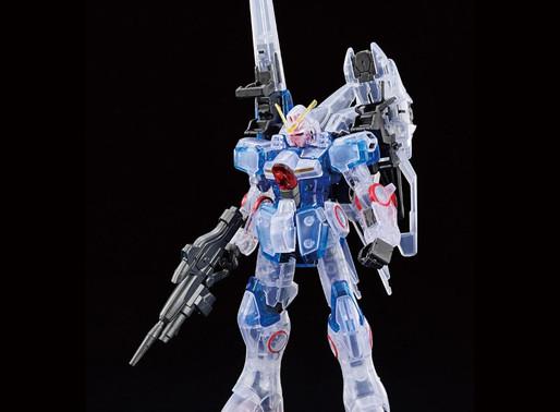 HGUC 1/144 Gundam Base Limited Second V Clear Color