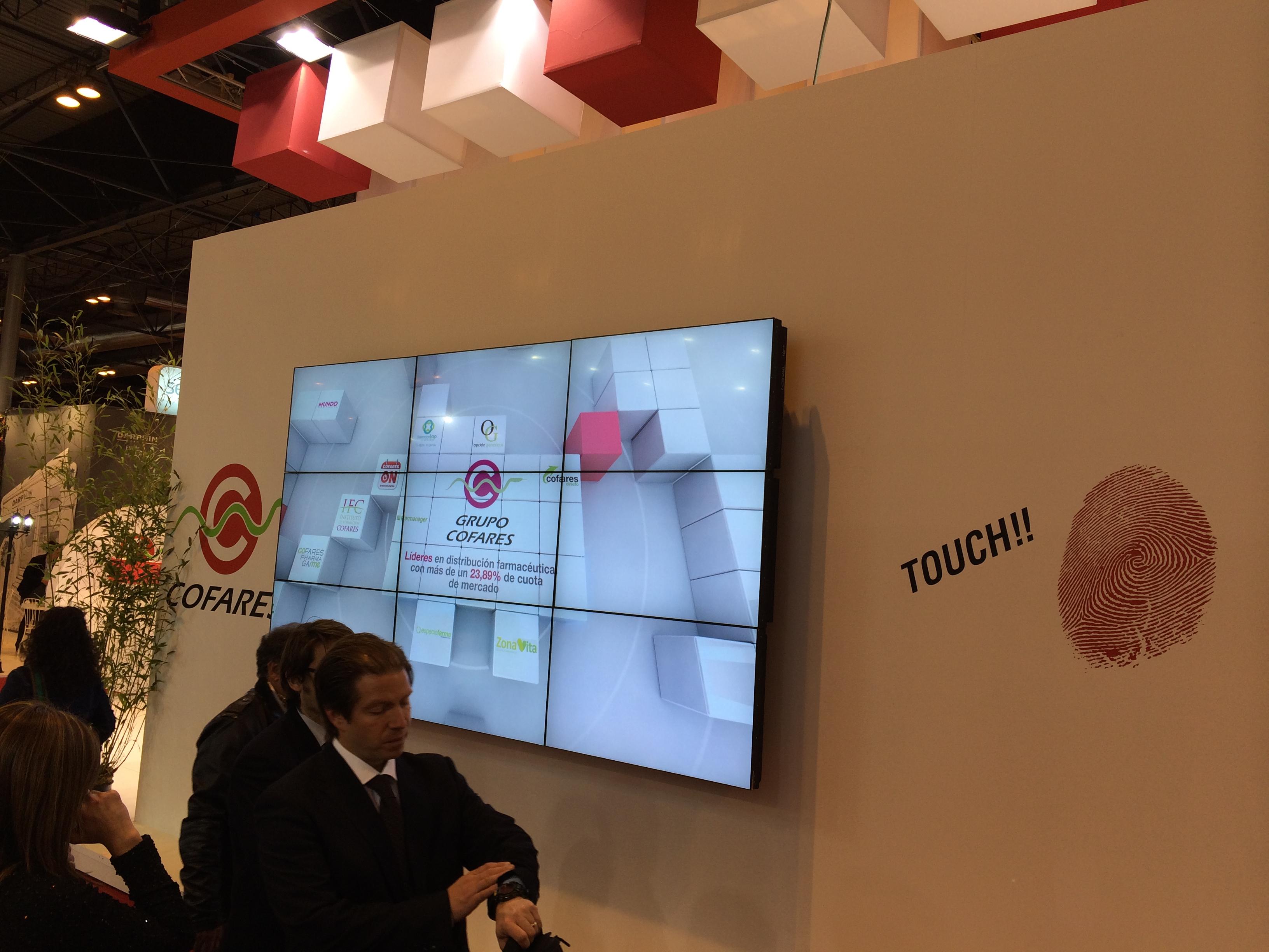 Alquiler videowall madrid