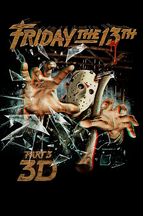 Friday the 13th 3D - Poster (11 x 17)