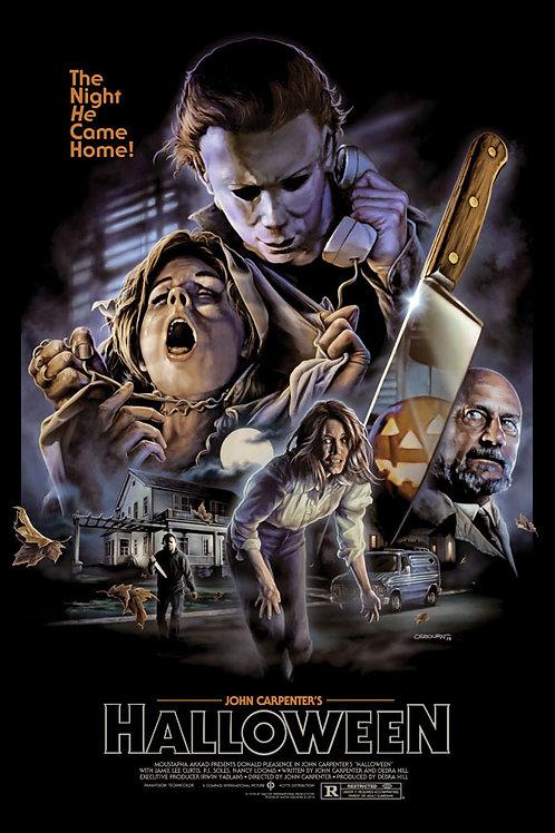 Halloween (40th Anniversary) - Poster B (24 x 36)