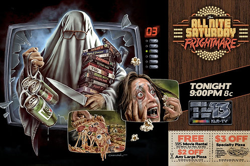All Nite Saturday Frightmare - Poster (11 x 17)