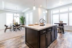 Dining/Morning Room + Kitchen