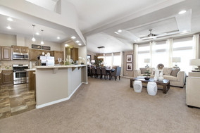 Living/Dining Room + Kitchen