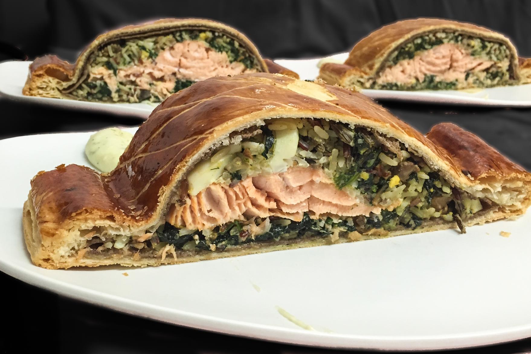 Coulibiac de Saumon d'Ecosse