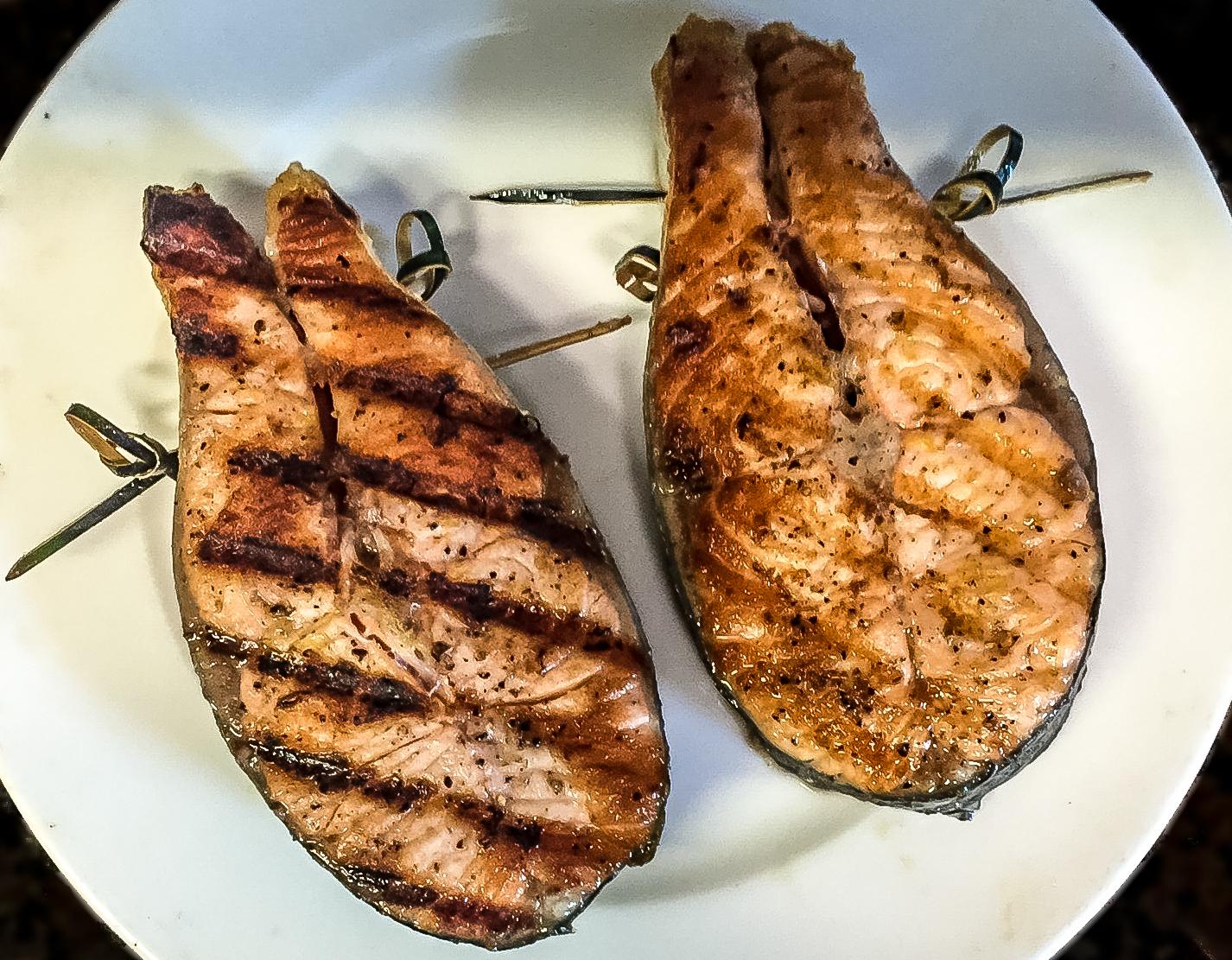 Darne de Saumon grillée