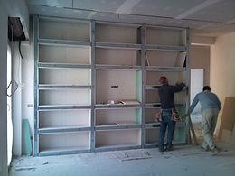 ristrutturazioni ristrutturazione d'interno  librerie in cartongesso