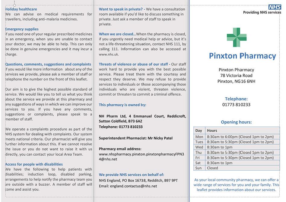 Pinxton Pharmacy Practice outside - Insi