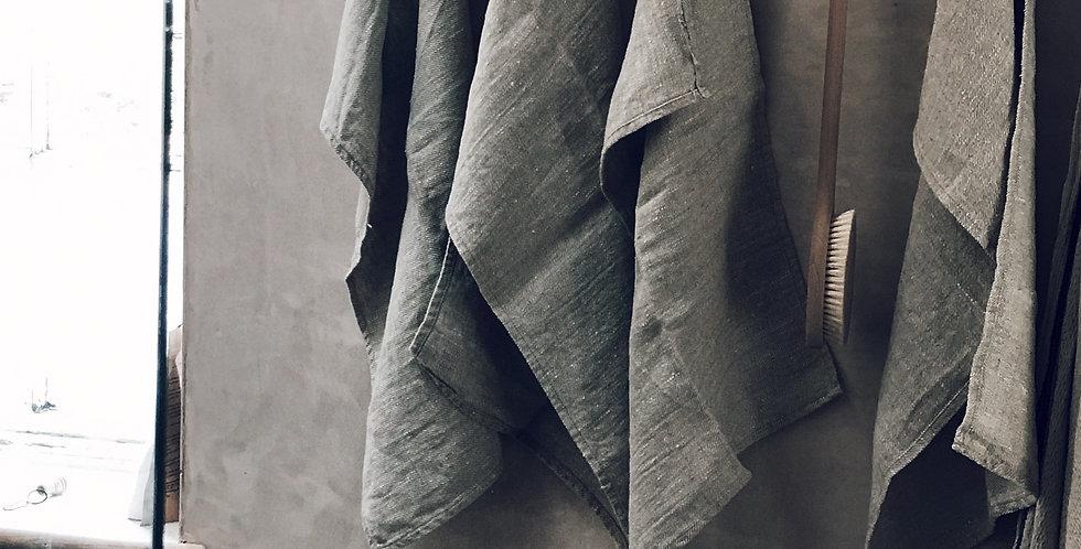 Raw Linen Tea or Hand Towels