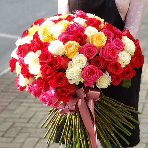 Topiaria 50 Rosas Importadas