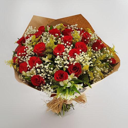 Buque 36 Rosas Importadas