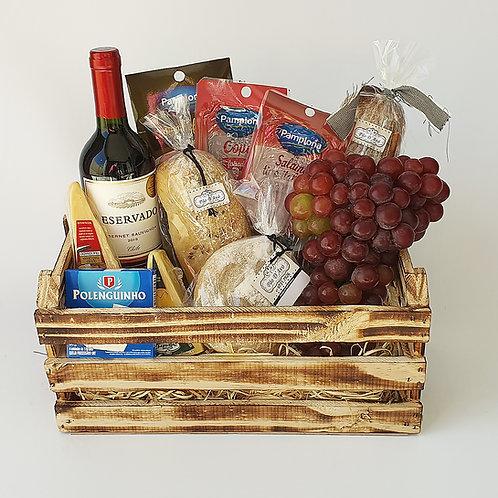 Caixa Pães e Vinho
