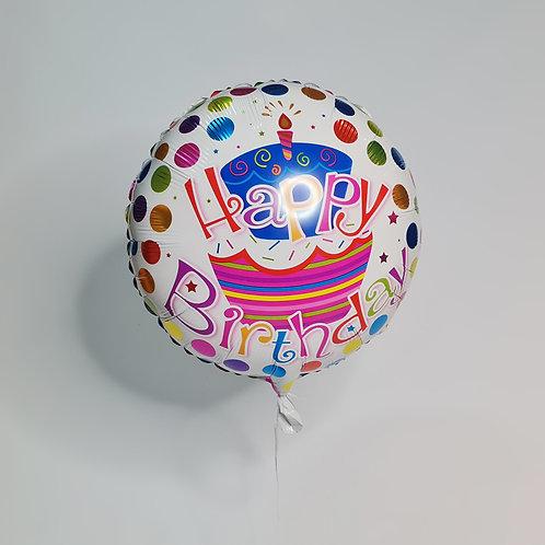 Balão Gás Happy Birthday