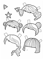 GIRL HAIR 1