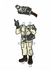 Ghostbuster Girl COLORED