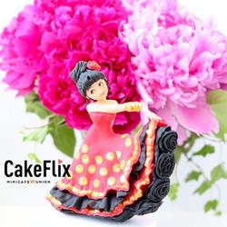 Flamenco Dancers Cake Decorating and Baking Tutorial