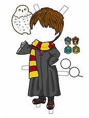 HOGWARTS BOY COLORED