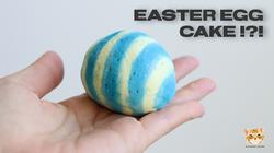 EASTER EGG CAKE!?!
