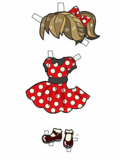 Dot Dress Colored