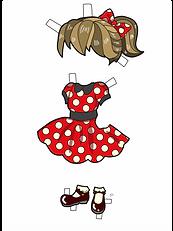 Dot Dress Colored