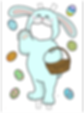 BUNNY BLUE COLORED