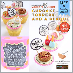 CupCake Toppers & a Plaque
