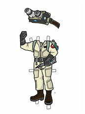 Ghostbuster Boy COLORED