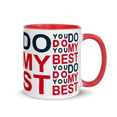 YOU DO YOU DO MY BEST ( RED&NAVY-VIVI )